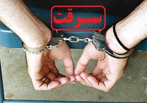 دستگیری سارقان کابل هاي مخابراتی در الشتر