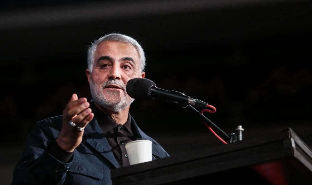 وعده سردار سلیمانی : انتقام میگیرم! +فیلم
