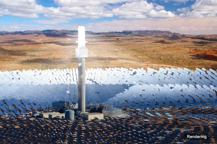 6629631 432 - بزرگترین نیروگاه خورشیدی در جنوب استرالیا ساخته میشود+ تصاویر
