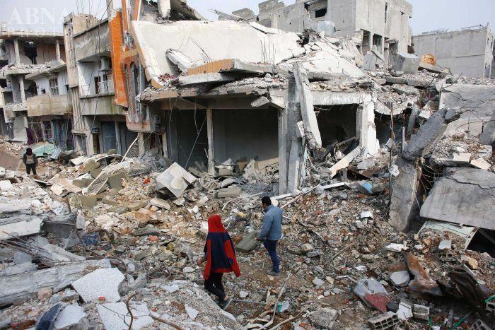 باشگاه خبرنگاران -حملات موشکی تروریستها به محله «اکرمیه» حلب