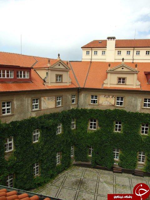ساختمان باشکوهی در پراگ + فیلم