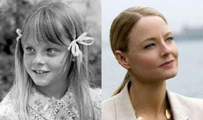 تصاویر بسیار جالب از کودکی بازیگران مشهور هالییود
