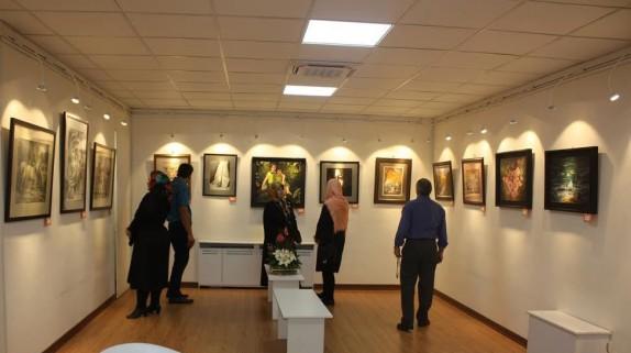 طرح، رنگ و نقاشی در گالری های شهر