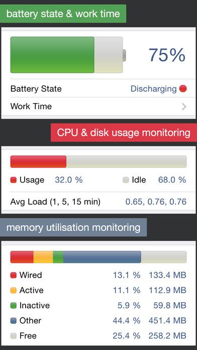 دانلود Powerful System Monitor 5.7.6 ؛ برنامه نظارت بر CPU - Ram و باتری اندروید