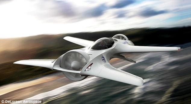 اولین ماشین فرمول یک که پروازمی کند