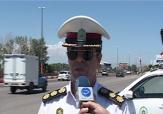 باشگاه خبرنگاران -توقف 2 خودرو متخلف در محور خلخال به اردبیل