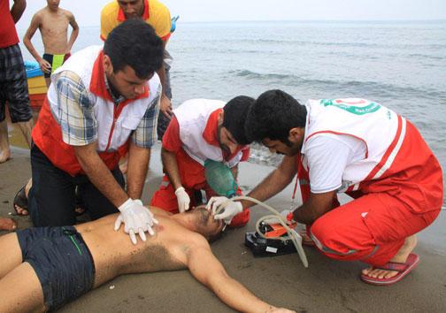 نجات ۷۰ مسافر در دریای مازندران