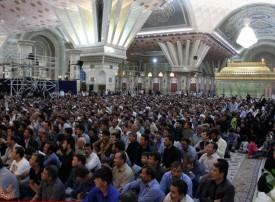 گرامیداشت شهدای میرزااولنگ افغانستان در مرقد مطهر امام خمینی(ره)