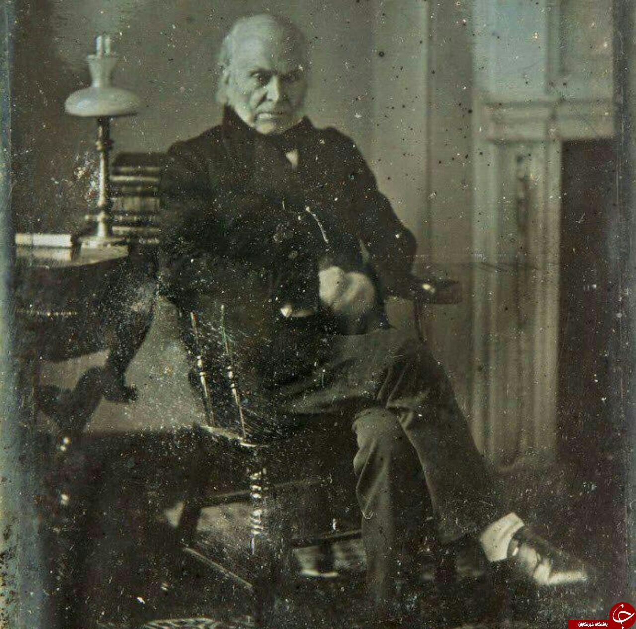 قدیمیترین عکس از یک رئیس جمهور آمریکا