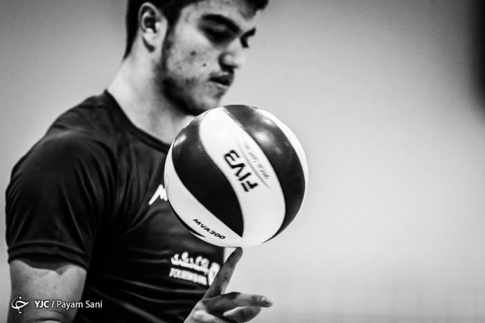 تمرین وآنالیز تیم ملی والیبال نوجوانان ایران پیش از آغاز مسابقات قهرمانی نوجوانان جهان_بحرین