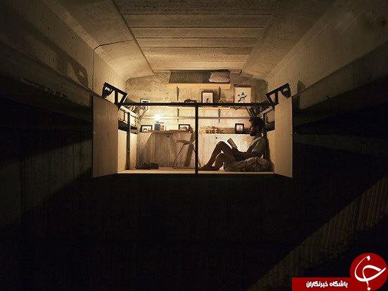 ساخت استودیوی مخفی زیر یک پل شلوغ در والنسیا