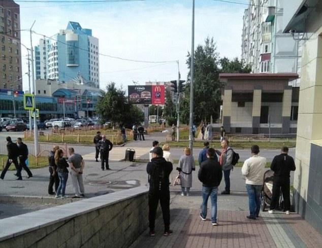 حمله مسلحانه در روسیه/ ۸ نفر زخمی شدند