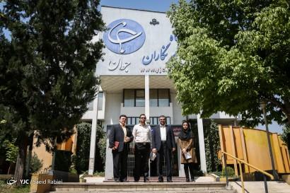 باشگاه خبرنگاران -حضور مدیرکل آموزش و پرورش شهر تهران در باشگاه خبرنگاران جوان
