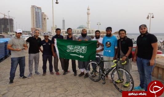 سفر ۶ هفتهای ۹ حاجی انگلیسی با دوچرخه برای ادای مناسک حج+ تصاویر