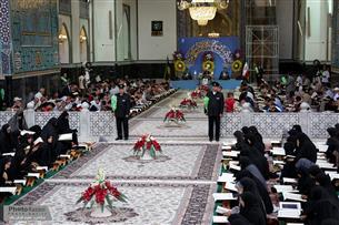 حرم رضوی میزبان محفل قرآنی در شب شهادت امام جواد(ع)