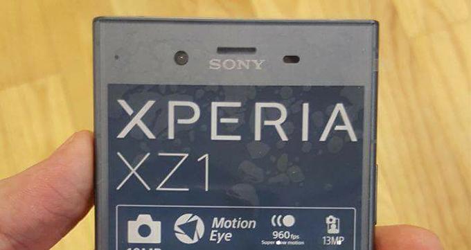 انتشار تصاویری جدید از گوشی Xperia XZ1