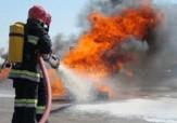 باشگاه خبرنگاران -برگزاری مانور اطفاء حریق درسنندج