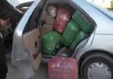 باشگاه خبرنگاران -توقیف خودروی حامل پوشاک قاچاق در سروآباد