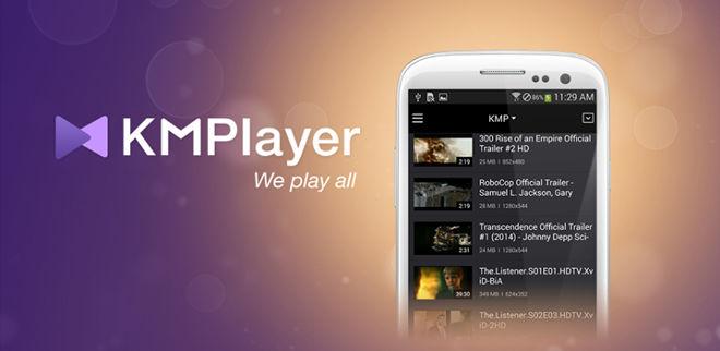 دانلود KMPlayer 18.09.06 - پخش کننده قدرتمند کی ام پلیر برای اندروید