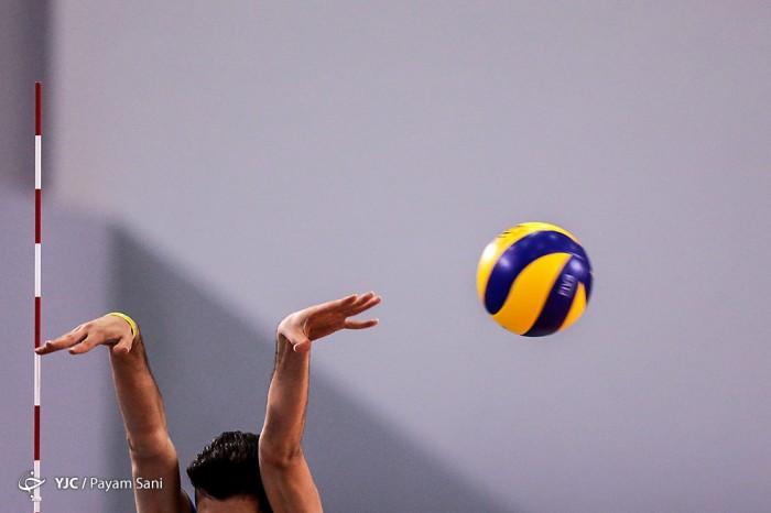 دیدار تیم های والیبال ایران و ایتالیا در مسابقات قهرمانی نوجوانان جهان