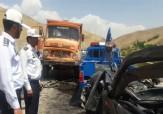 باشگاه خبرنگاران -تصادف مرگبار کامیون با پژو در جاده نهاوند - آورزمان + فیلم