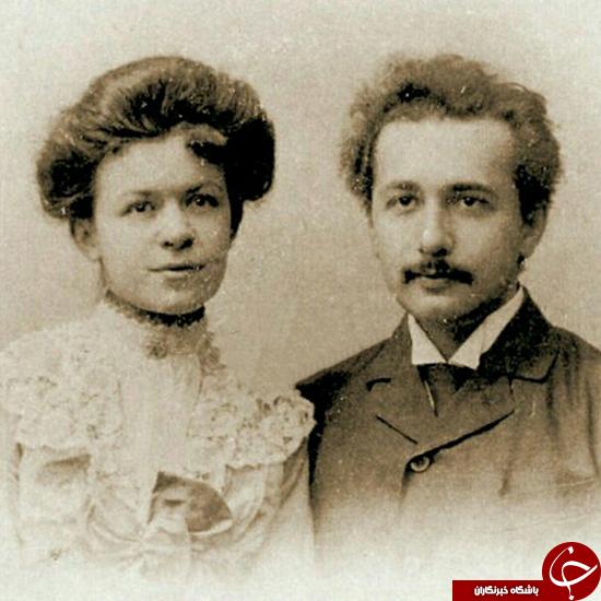 تصمیم عجیب انیشتین برای طلاق از همسرش +عکس