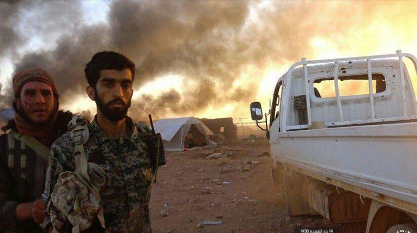 صحنه ای که دل مادر شهید حججی را آتش زد+فیلم