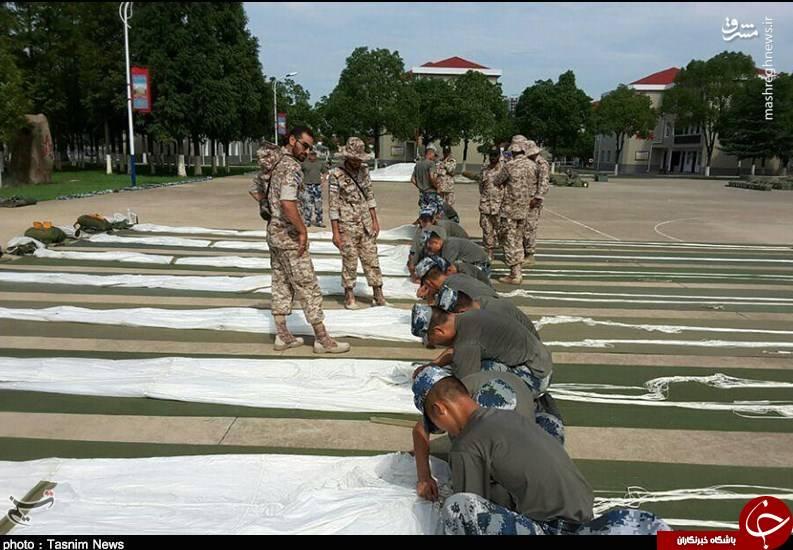 تمرینات نیروهای ویژه سپاه پاسداران در چین