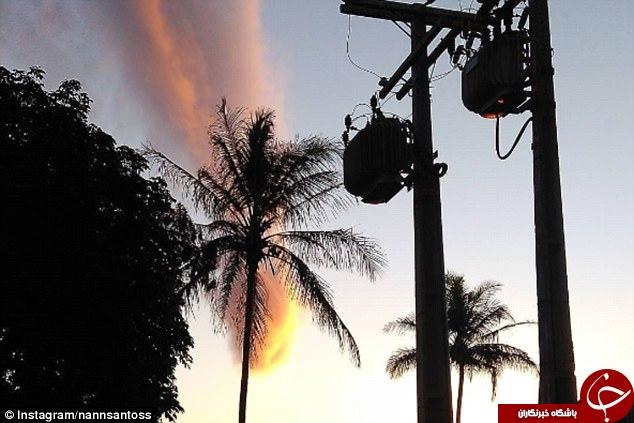 پدیدهای نادر و شگفتانگیز در آسمان برزیل + فیلم