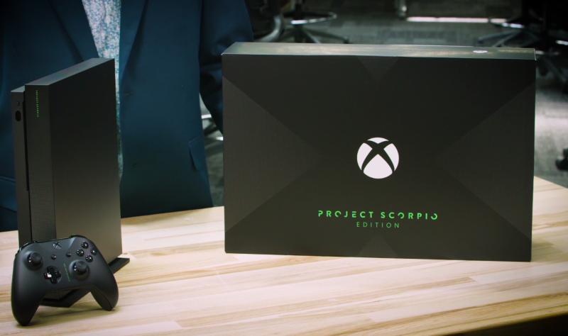 مایکروسافت با رونمایی Xbox One Scorpio به رقابت با سونی ادامه داد