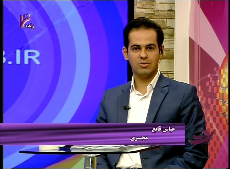 گزارشگر خاص تلویزیون باز هم حماسه آفرید +فیلم
