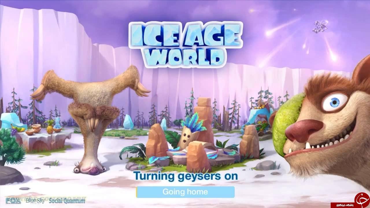 دانلود Ice Age World 1.8 ؛ بازی کژوال عصر یخبندان