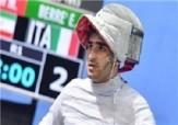 باشگاه خبرنگاران - مدال برنز المپیک دانشجویان جهان بر گردن سابریست یزدی