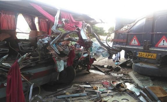 باشگاه خبرنگاران - سانحه رانندگی در قزوین ۲۹ مصدوم بر جای گذاشت+ تصاویر