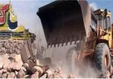 باشگاه خبرنگاران - تخریب ساخت و ساز های غیر قانونی در دامغان