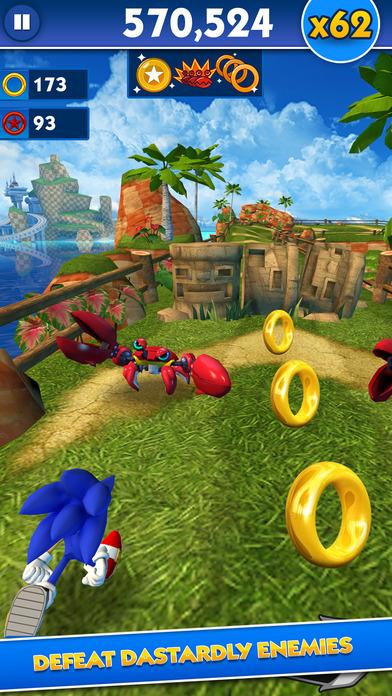 دانلود Sonic Dash 3.7.4.Go بازی سونیک دش