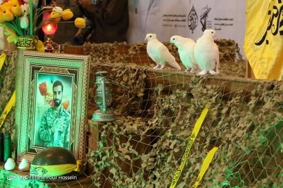 باشگاه خبرنگاران -مراسم گرامیداشت شهید محسن حججی - شیراز