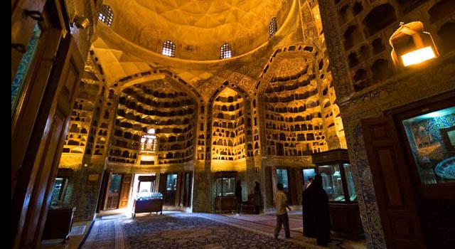 بقعه شیخ صفی الدین اردبیلی تلفیقی از  هنر و معماری دینی