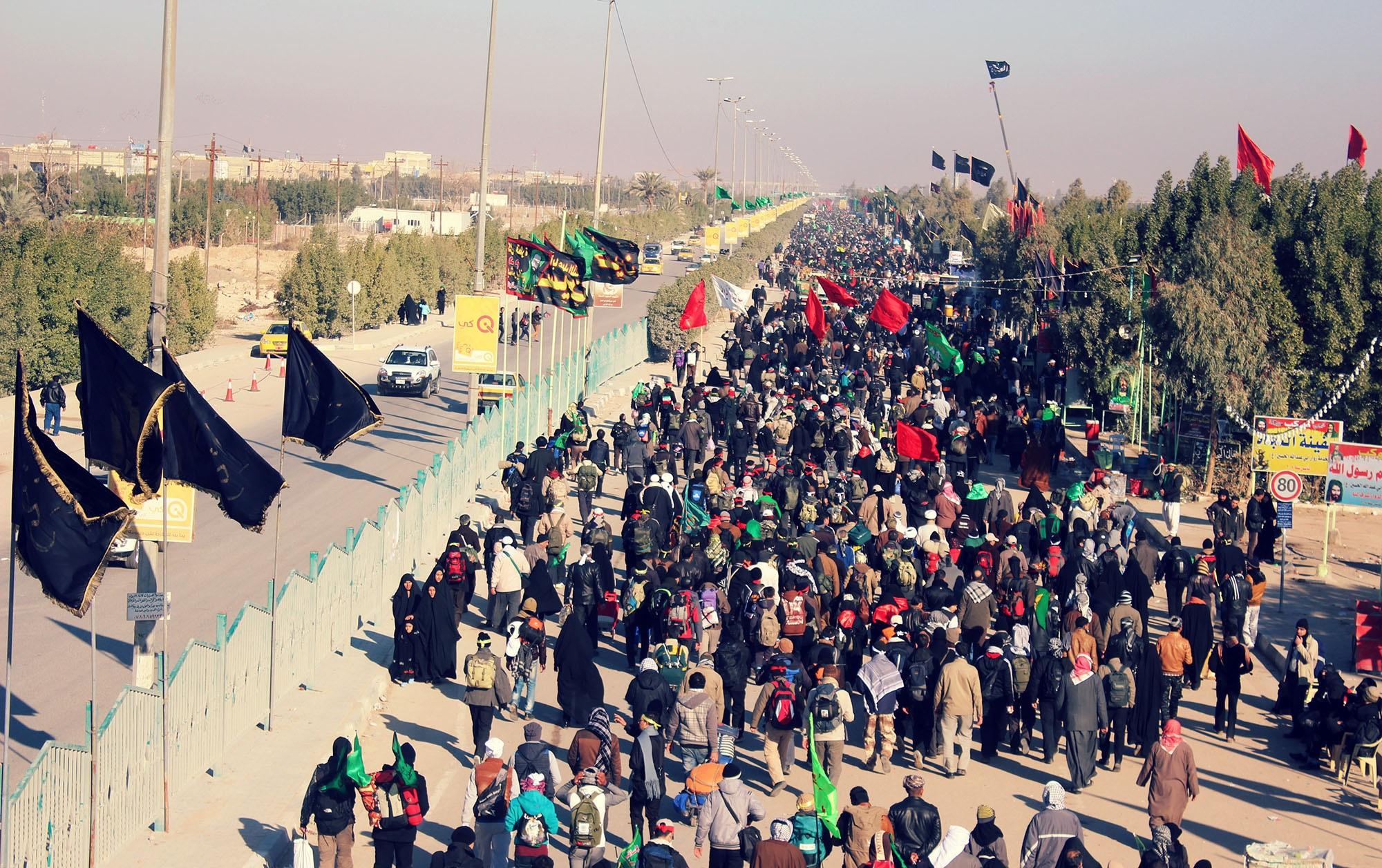 تردد زائران اربعین حسینی از 4 نقطه مرزی/ مرز خسروی امنترین مسیر برای رسیدن به کربلا