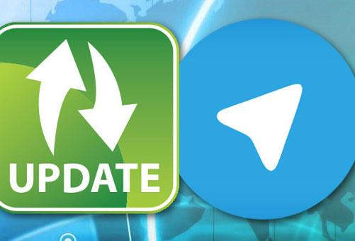 چگونه تلگرام خود را آپدیت کنیم ؟
