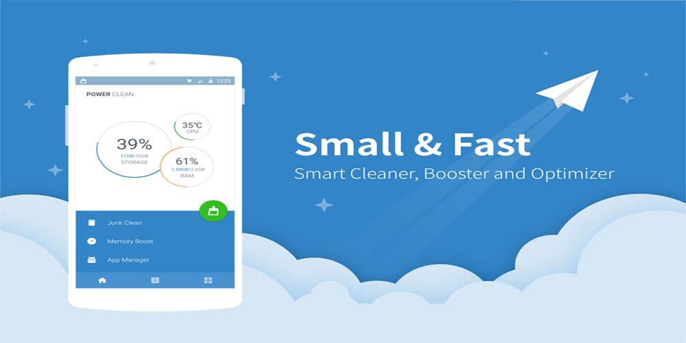 دانلود Power Clean؛ بهینه ساز سریع، قدرتمند و کم حجم برای افزایش سرعت گوشی