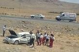 باشگاه خبرنگاران -دو مصدوم در واژگونی خودرو