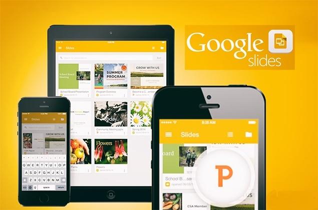 دانلود Google Slides  ؛ نرم افزار جایگزین پاورپوینت از شرکت گوگل