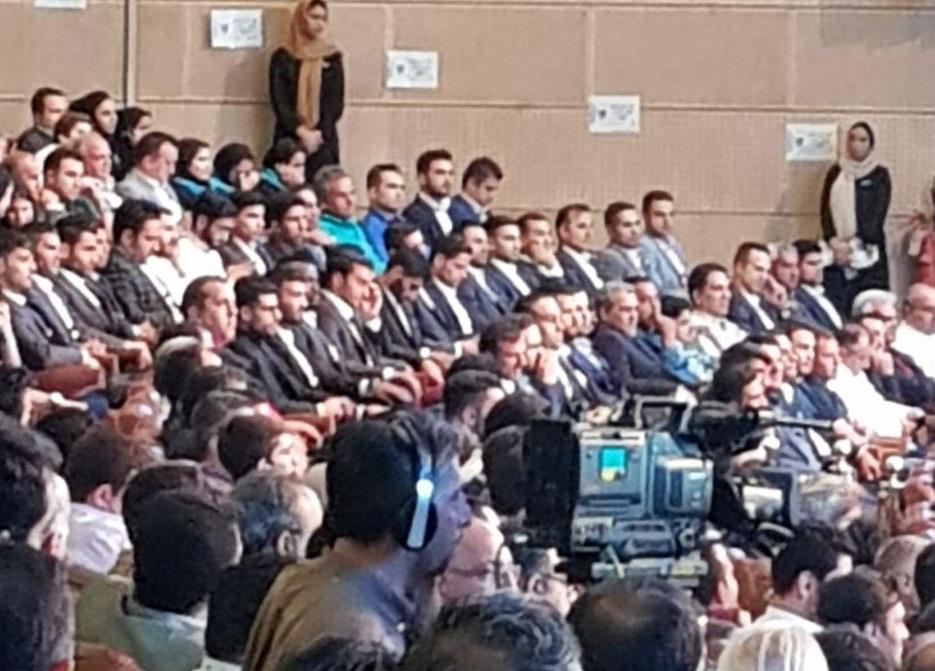 حاشیه های مراسم برترین های لیگ شانزدهم فوتبال + تصاویر