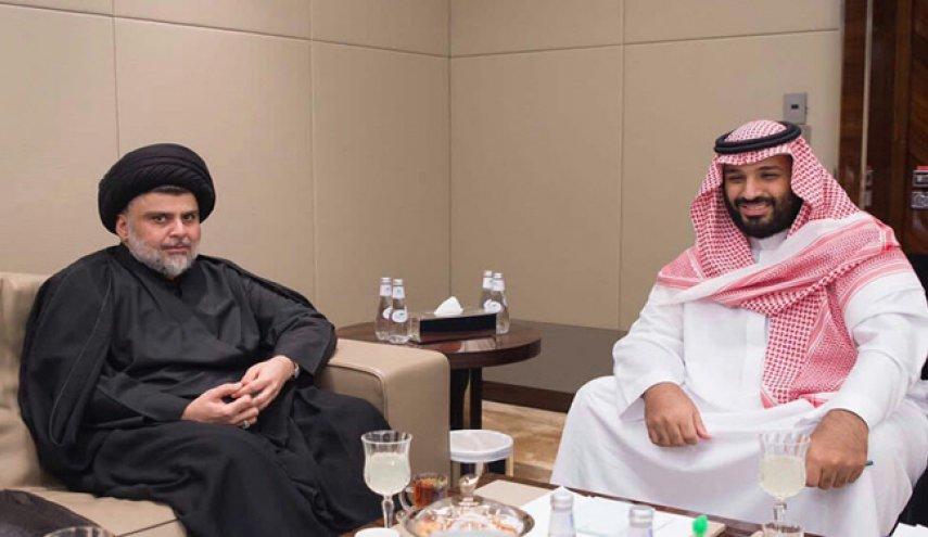 مقتدی صدر با محمد بن سلمان دیدار کرد