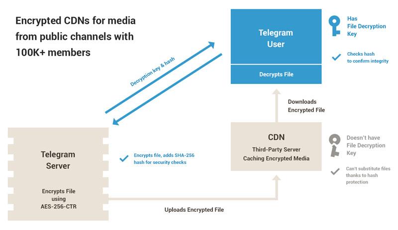 انتقال CDN تلگرام دسترسی به محتوای مجرمانه را سهل میکند/ نقض قوانین مشخصه بارز تلگرام