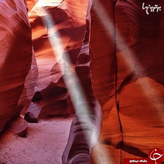 تصاویر باشکوه از دره هایی که طی میلیونها سال شکل گرفتند