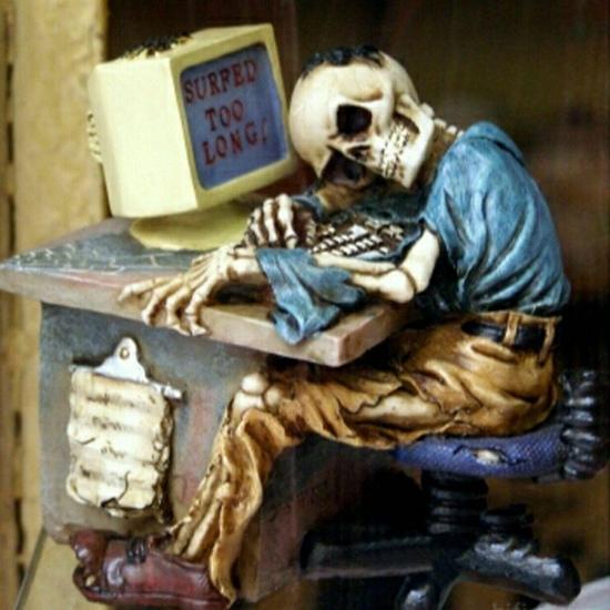 استفاده بیش از 6 ساعت از اینترنت باعث مرگ میشود