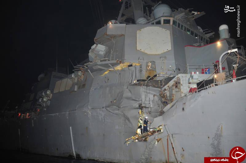 ۱۰ تصادف جالب یگان های دریایی آمریکا در سالهای اخیر/ از قتل عام ماهیگیران توسط ناو هواپیمابر تا گاف فرماندهان زیردریایی اتمی +عکس