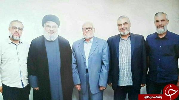 پدر و برادران سید حسن نصرالله درقاب تصویر